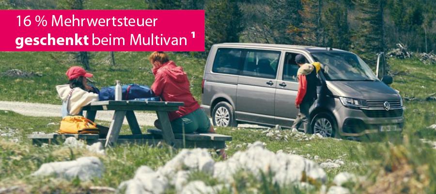 MWST geschenkt beim Multivan